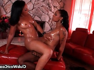 Hot black girls Anita and Porshe