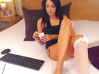 Brunette Babe Smoking cigarettes on Cam pornvideo.rodeo