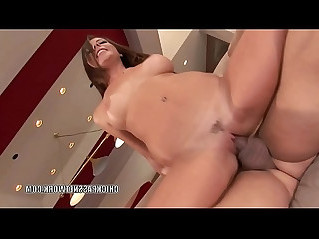 Petite slut Penny Flame bounces on a stiff cock