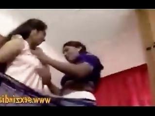 Indian Fat Aunties Bedroom Lesbian SEx Video Amateur sex video