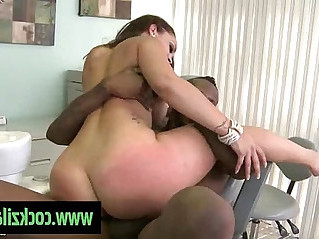 Horny blonde Milf Fucked Black Guy