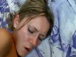 Big tited wife Wake up Anal sex
