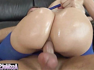 Anal Sex Tape With Curvy Big Ass Oiled big butt Girl anikka albrite vid