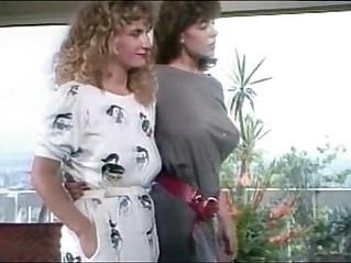 Christy Canyon watches Rikki Blake Fuck A Guy