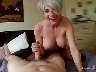 Lesbian takes first real cock POV Samantha Flair